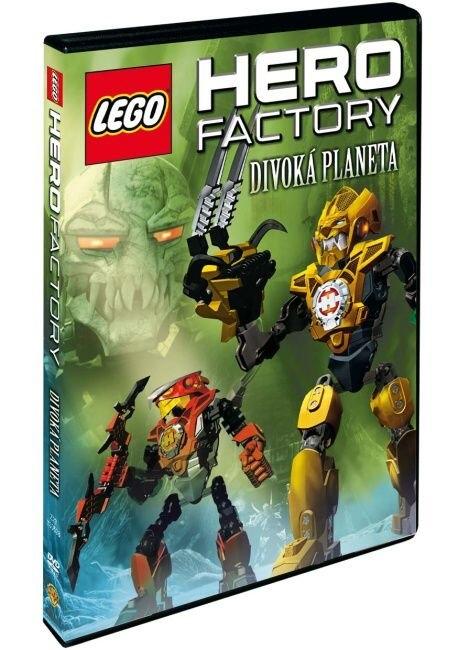 LEGO HERO FACTORY: DIVOKÁ PLANETA - DVD