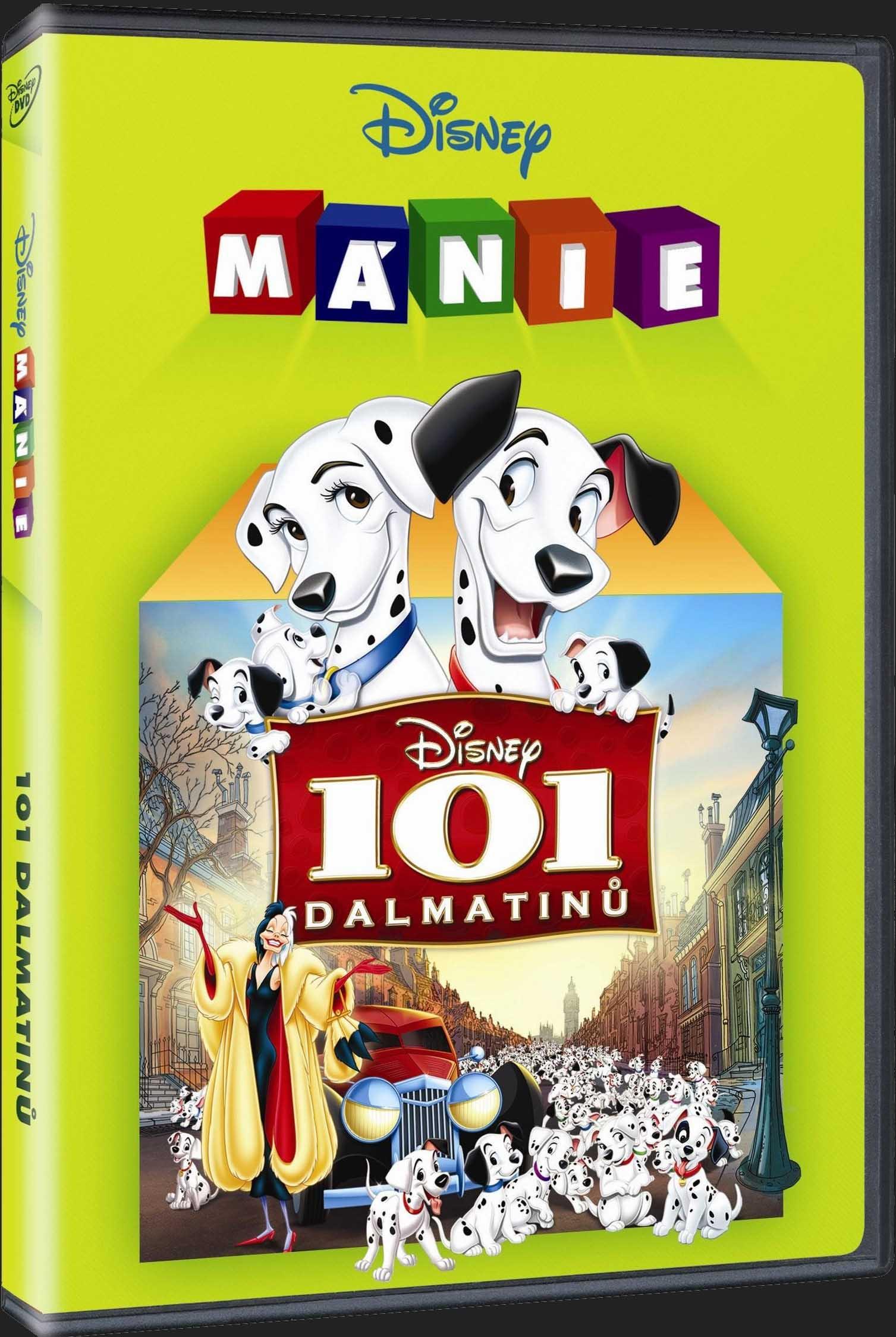 101 DALMATINŮ (speciální edice) - DVD
