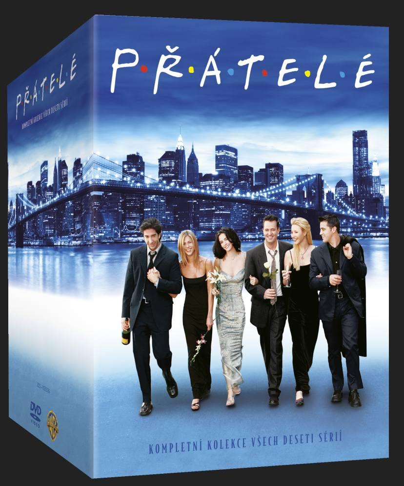 PŘÁTELÉ - 1.-10. SÉRIE - 39 DVD Viva balení