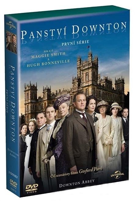 PANSTVÍ DOWNTON 1. SÉRIE - DVD