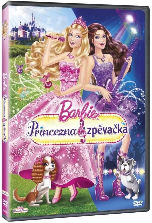 Barbie - Princezna a zpěvačka - DVD