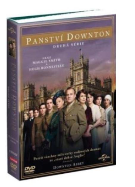 PANSTVÍ DOWNTON 2. SÉRIE - DVD