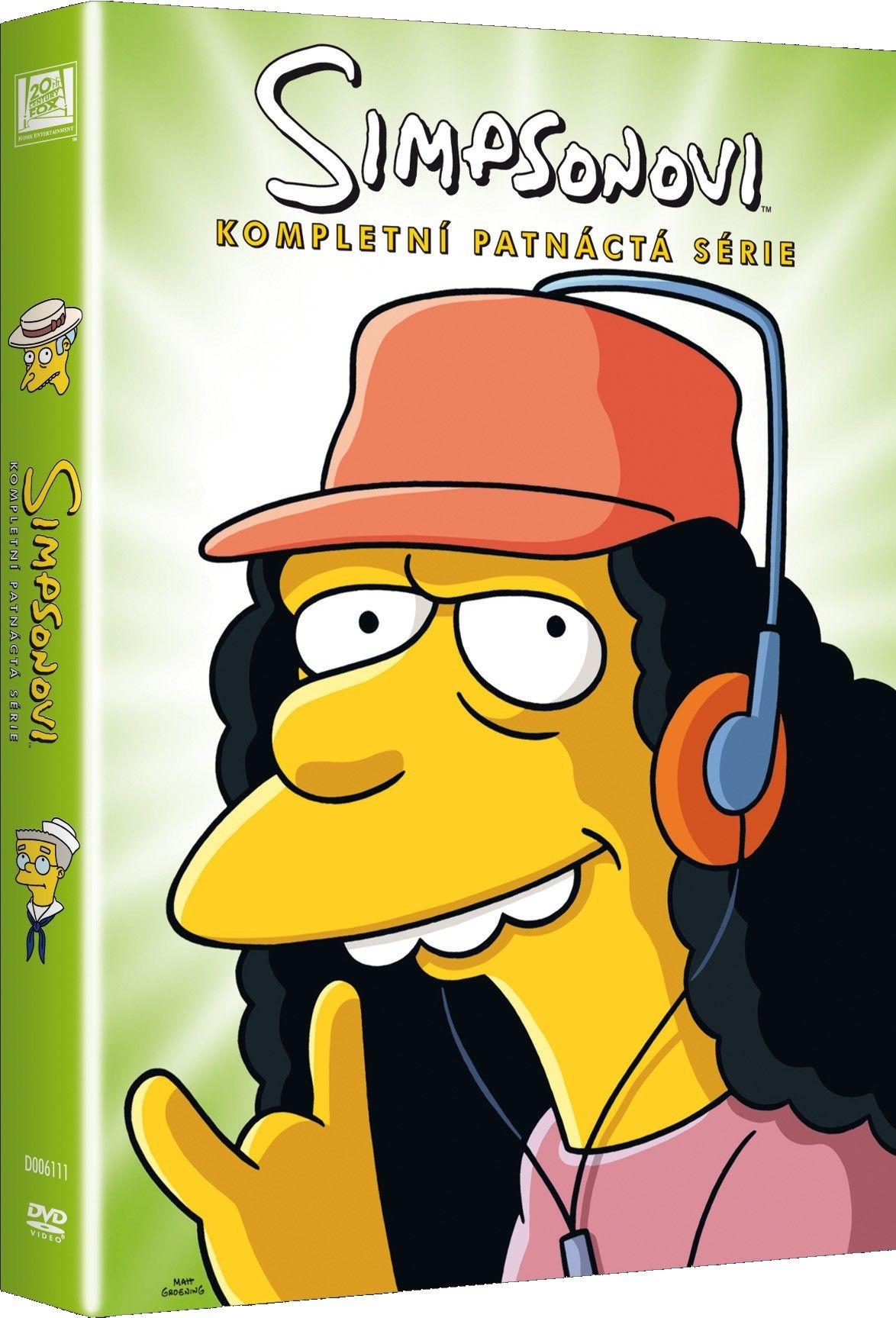 Simpsonovi 15. série - DVD