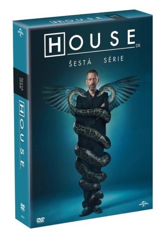 DR. HOUSE 6. SÉRIE - DVD