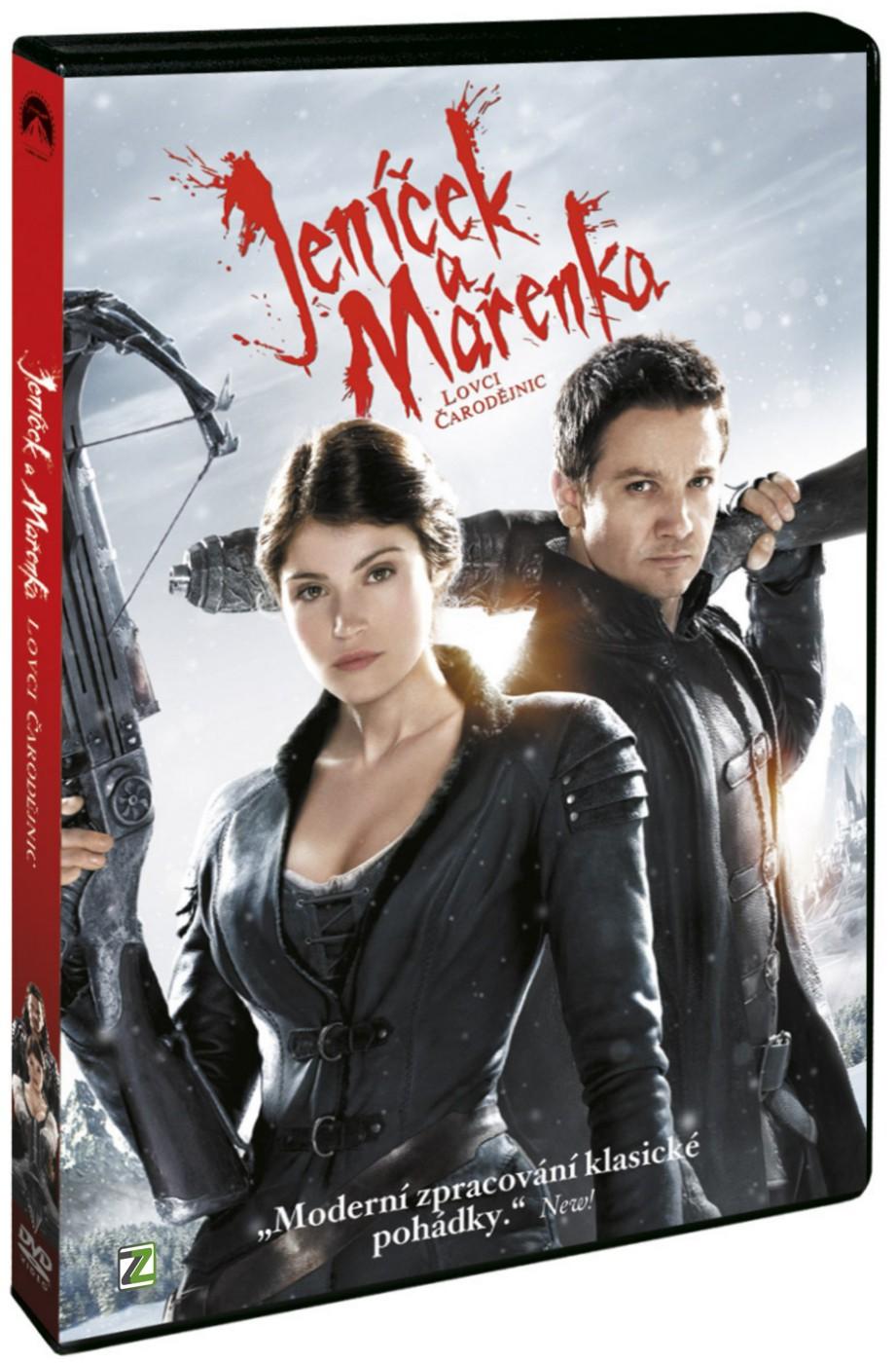 JENÍČEK A MAŘENKA: LOVCI ČARODĚJNIC - DVD
