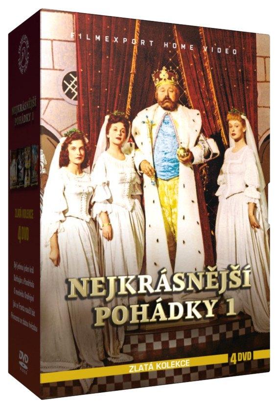 NEJKRÁSNĚJŠÍ POHÁDKY 1 - 4 DVD