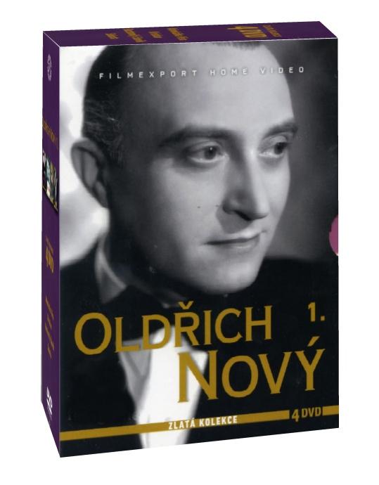 Oldřich Nový 1 - Zlatá kolekce - 4DVD
