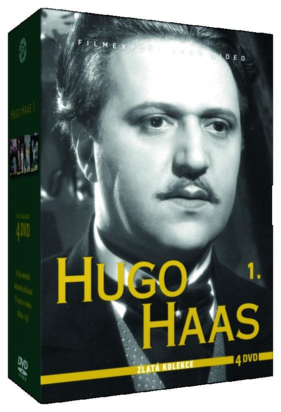HAAS HUGO 1 - ZLATÁ KOLEKCE - 4 DVD