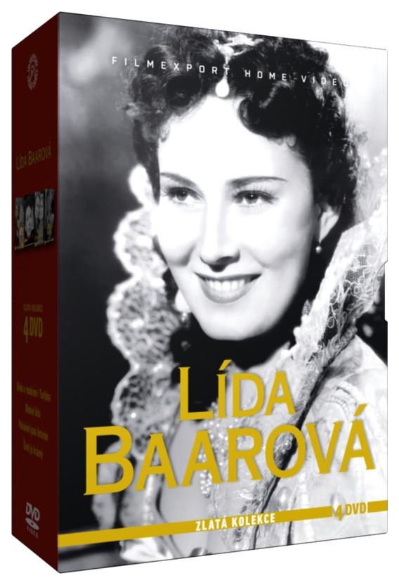 BAAROVÁ LÍDA - ZLATÁ KOLEKCE - 4 DVD