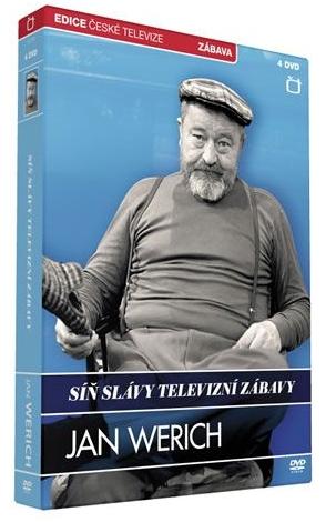 SÍŇ SLÁVY: JAN WERICH - DVD (4 DVD)