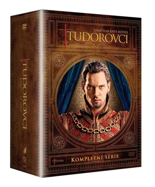 TUDOROVCI 1-4 (Kompletní série 12 DVD) - DVD