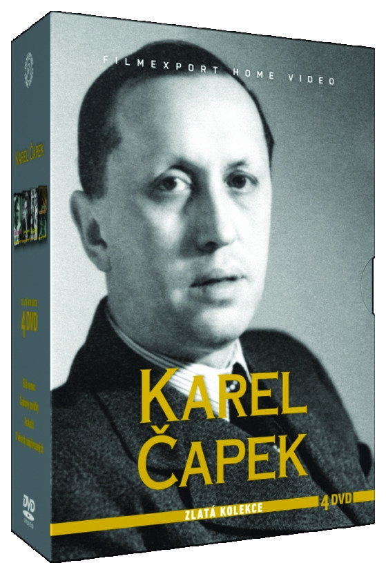 ČAPEK KAREL - ZLATÁ KOLEKCE - 4 DVD