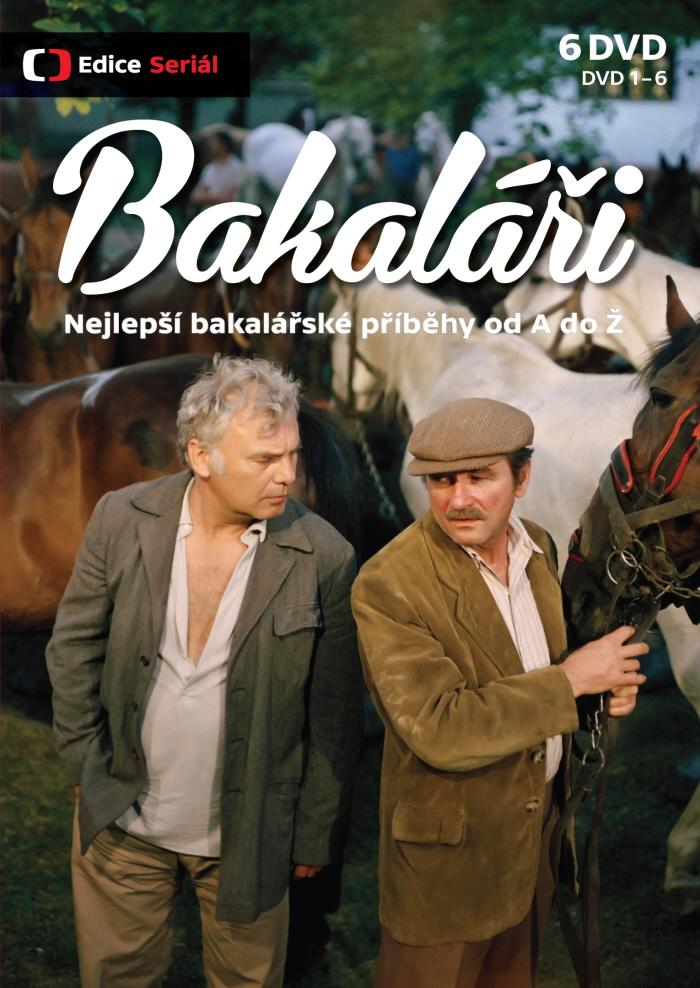 BAKALÁŘI (Nejlepší bakalářské příběhy od A do Ž) - 12 DVD