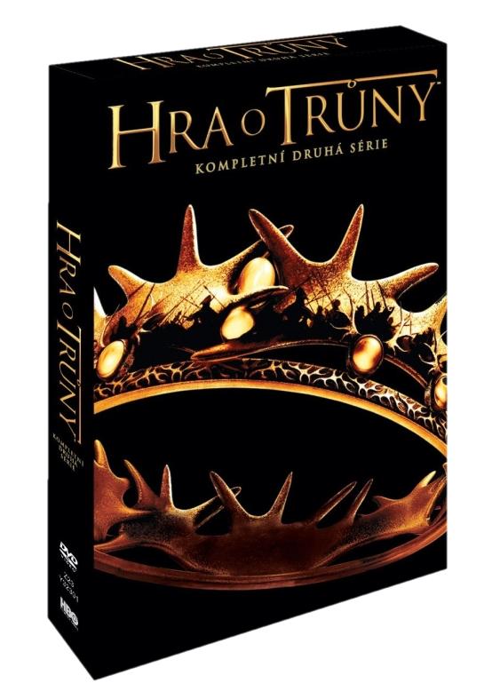 HRA O TRŮNY - 2. SÉRIE (5 DVD) - DVD
