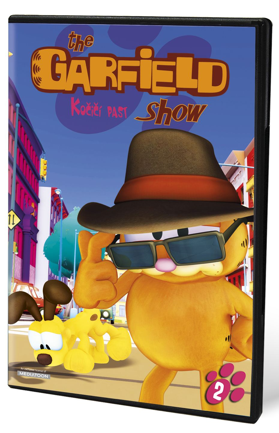 GARFIELD SHOW 2: KOČIČÍ PAST - DVD