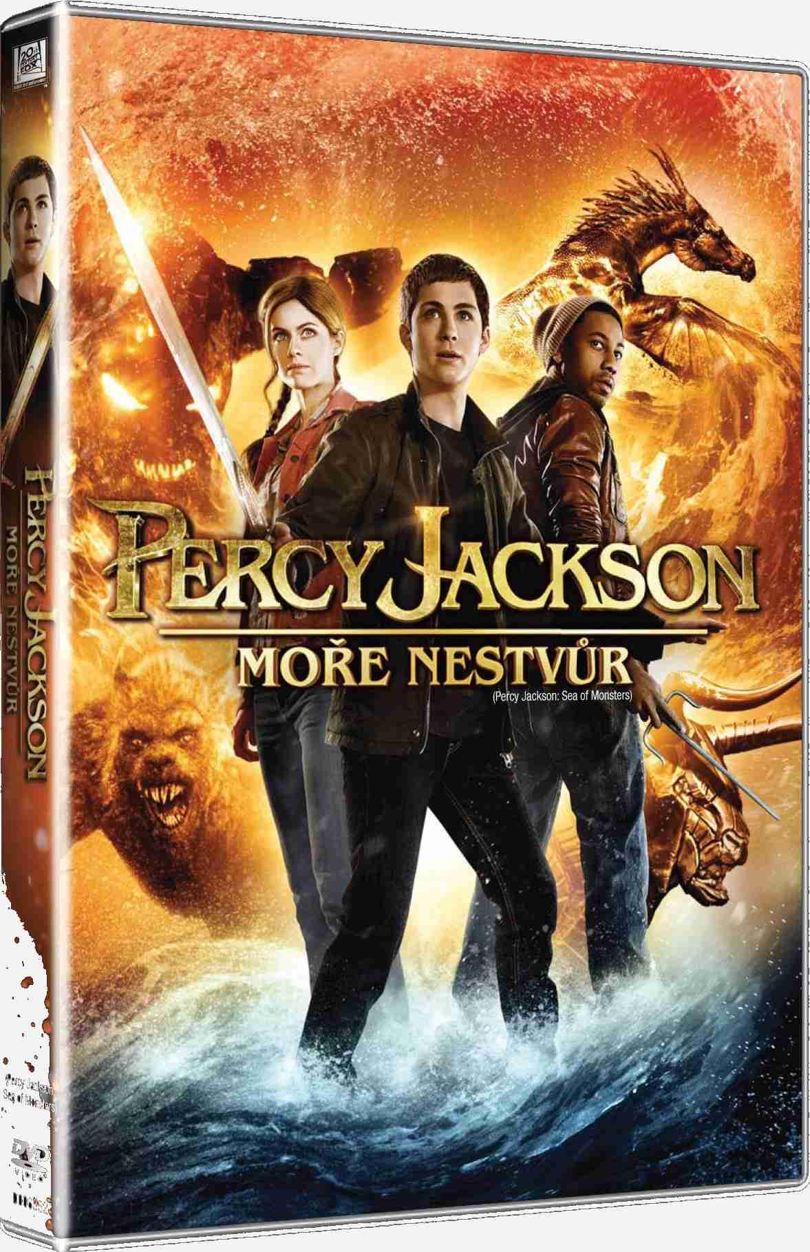 PERCY JACKSON: MOŘE NESTVŮR - DVD