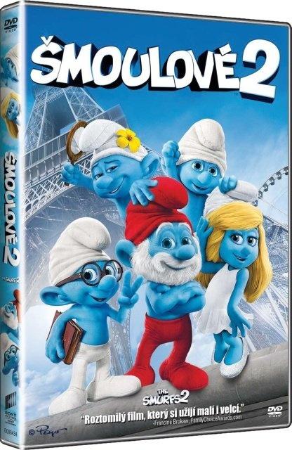 ŠMOULOVÉ 2 (2013) - DVD