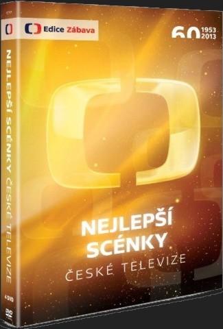 NEJLEPŠÍ SCÉNKY ČESKÉ TELEVIZE - 4 DVD