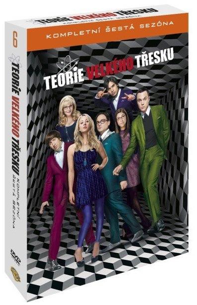 TEORIE VELKÉHO TŘESKU 6. SEZÓNA - 3 DVD
