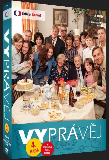 VYPRÁVĚJ - 4. ŘADA (8 DVD) - DVD