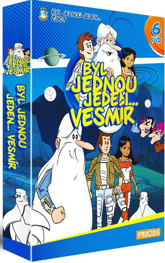 Byl jednou jeden vesmír - kolekce 6 DVD - remasterovaná verze