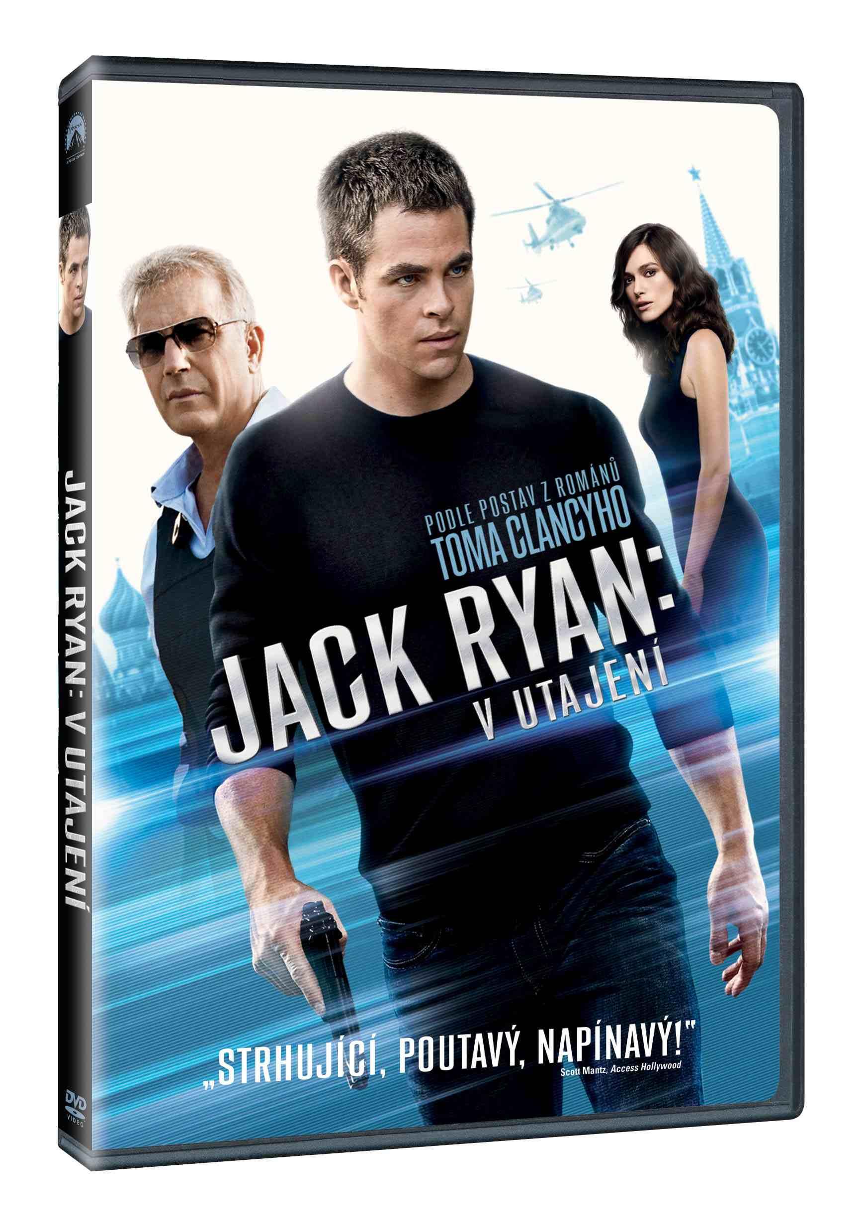 JACK RYAN: V UTAJENÍ - DVD