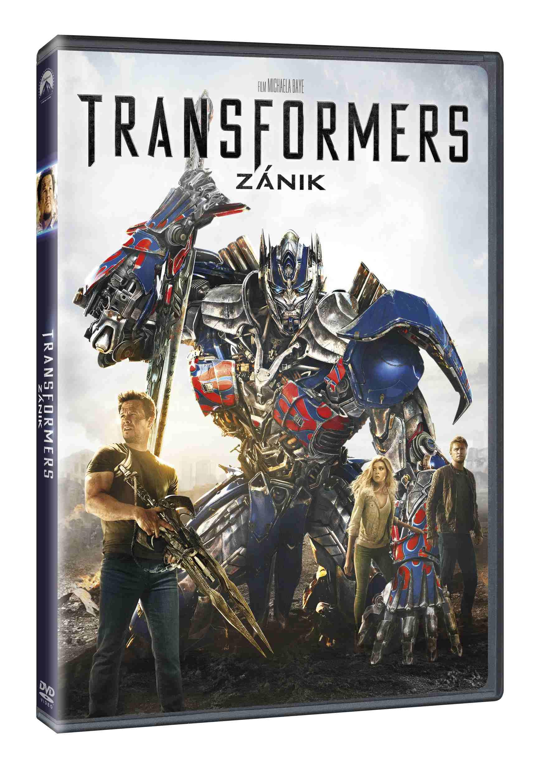 TRANSFORMERS 4: ZÁNIK - DVD