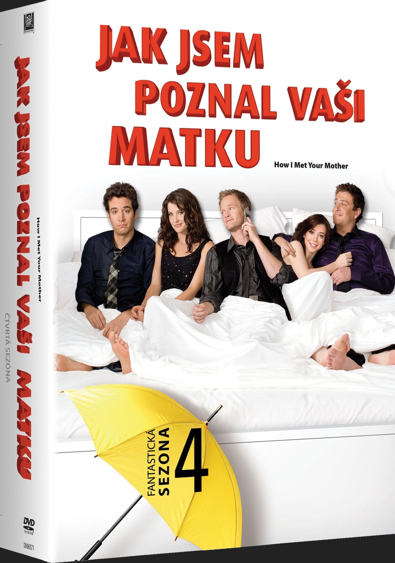 JAK JSEM POZNAL VAŠI MATKU - 4. SEZÓNA - DVD