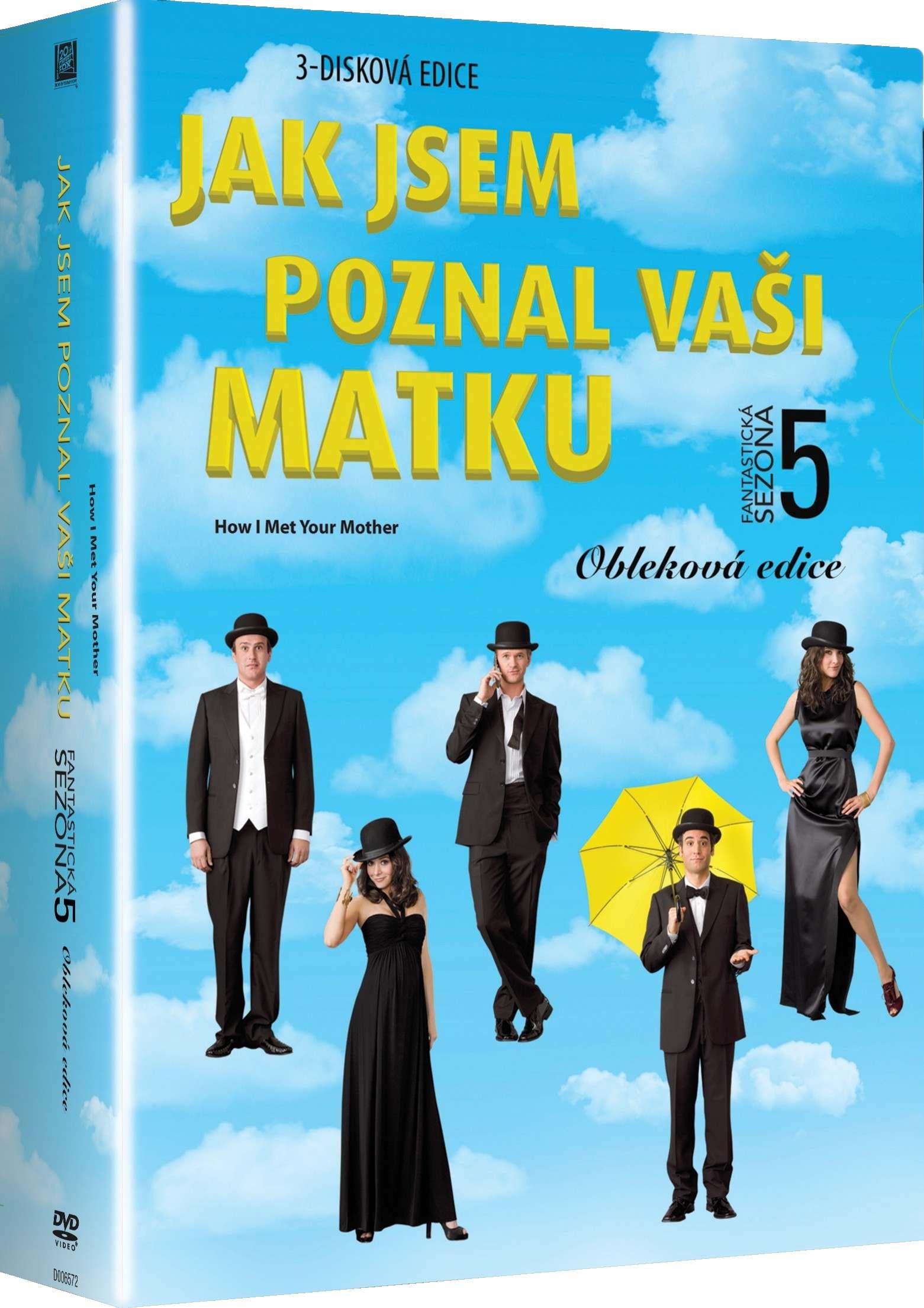JAK JSEM POZNAL VAŠI MATKU - 5. SEZÓNA - DVD