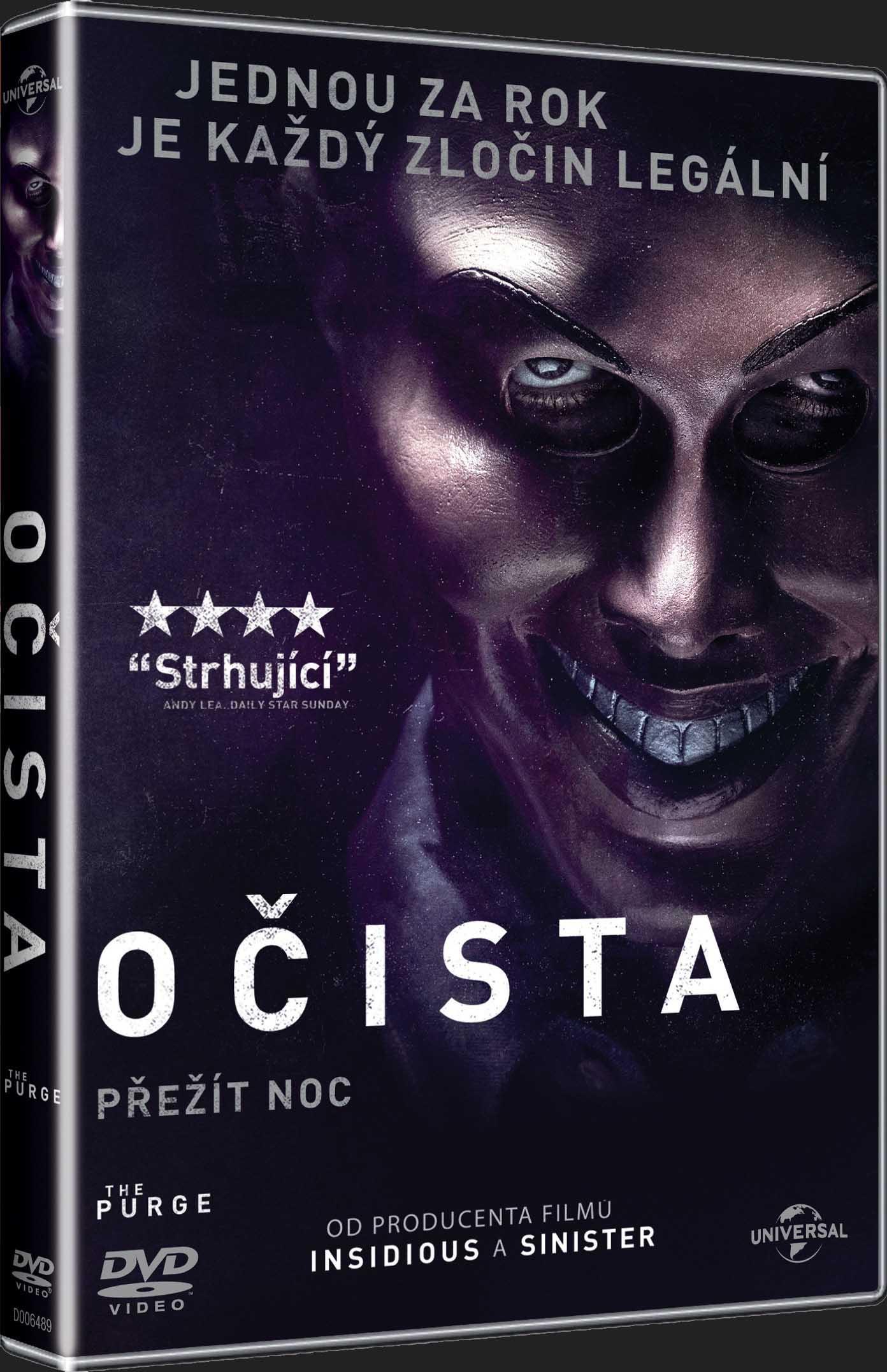 OČISTA - DVD