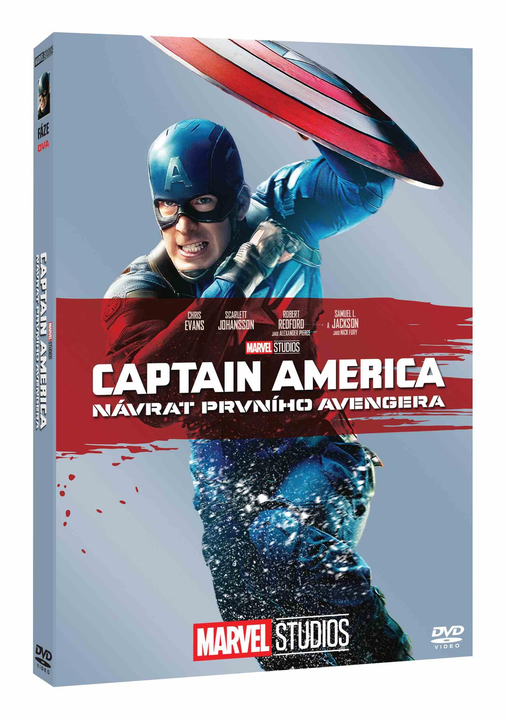 CAPTAIN AMERICA: NÁVRAT PRVNÍHO AVENGERA - DVD