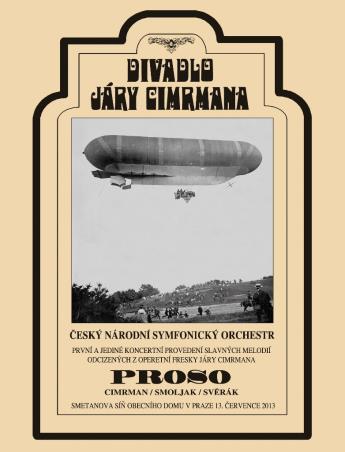 DIVADLO JÁRY CIMRMANA: PROSO - DVD + CD