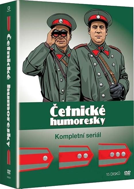 ČETNICKÉ HUMORESKY - KOLEKCE 1+2+3 DVD (15 DVD)