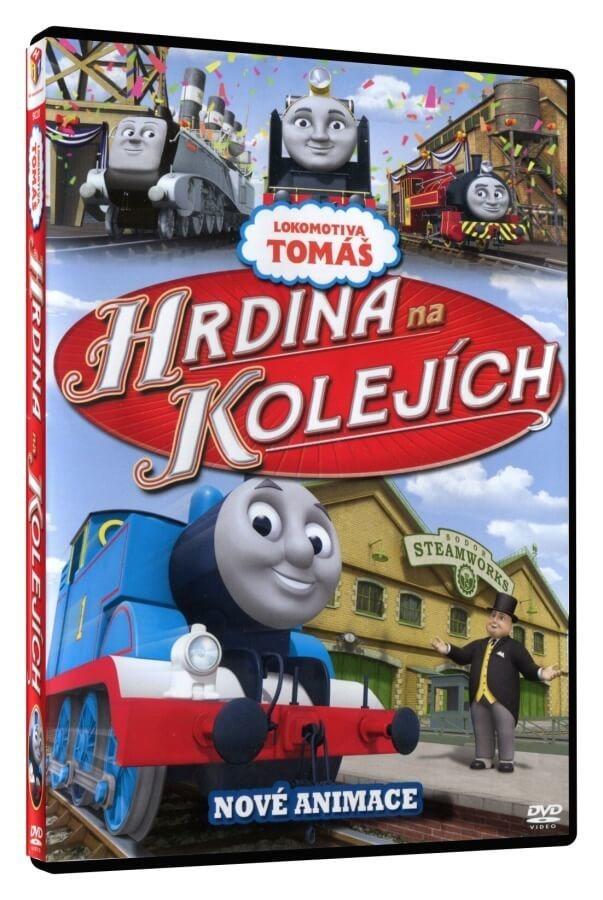 LOKOMOTIVA TOMÁŠ - HRDINA NA KOLEJÍCH - DVD