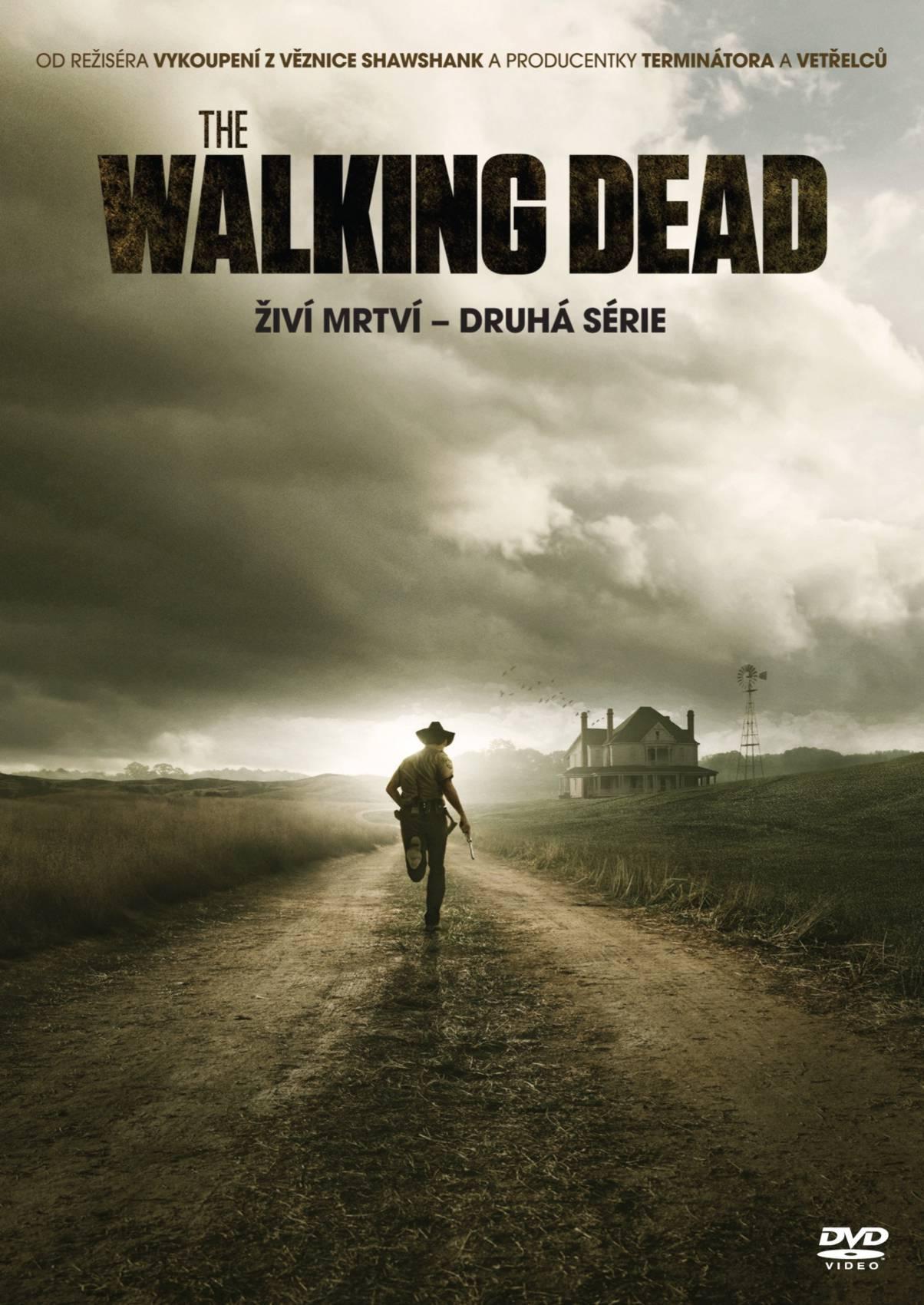 ŽIVÍ MRTVÍ (The Walking Dead) 2. SÉRIE - 4 DVD