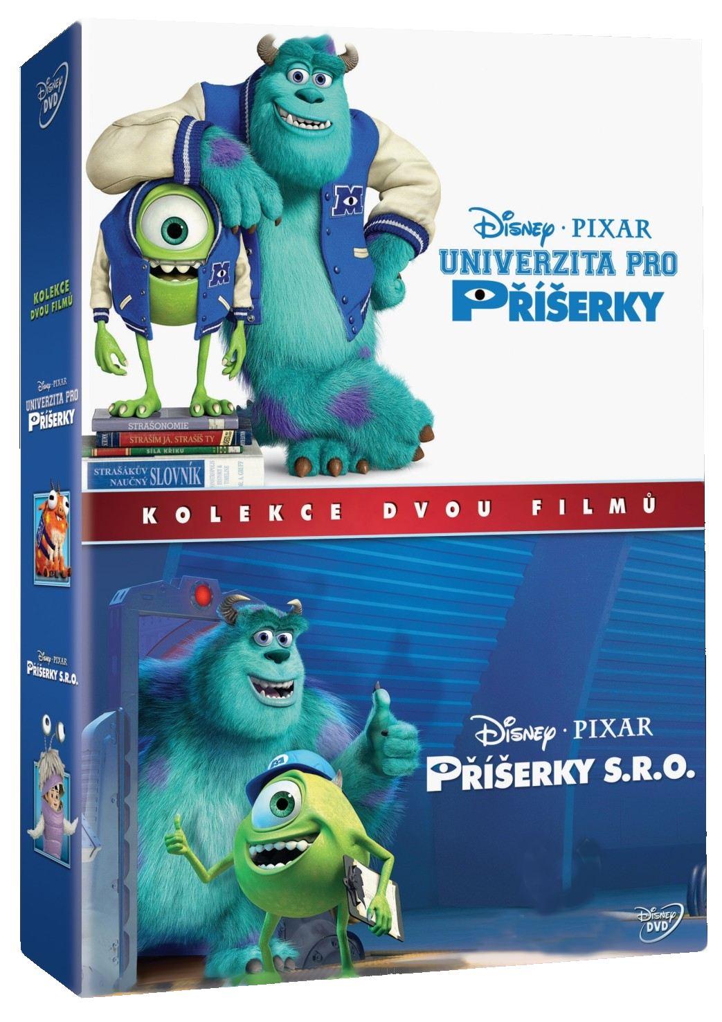 PŘÍŠERKY 1 + 2 KOLEKCE - 2 DVD