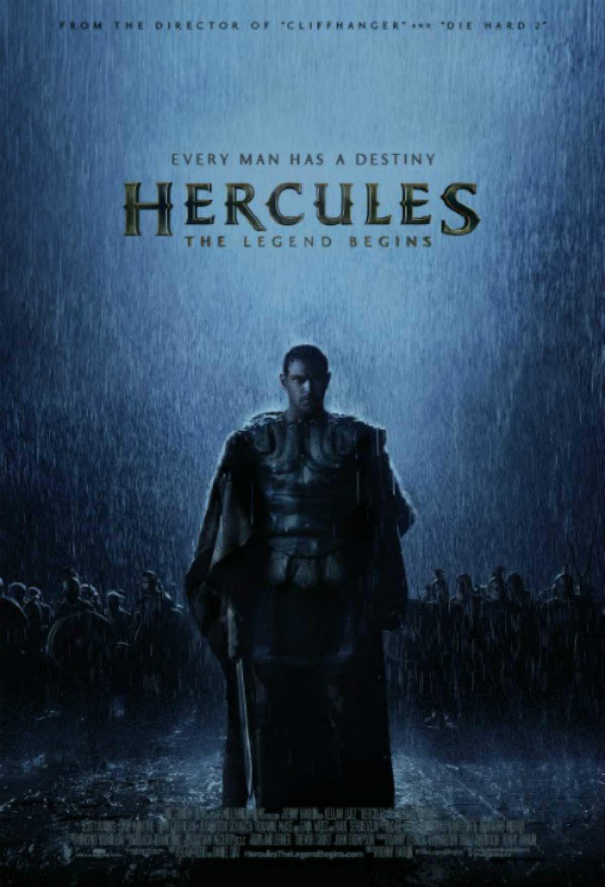HERKULES: ZROZENÍ LEGENDY - DVD