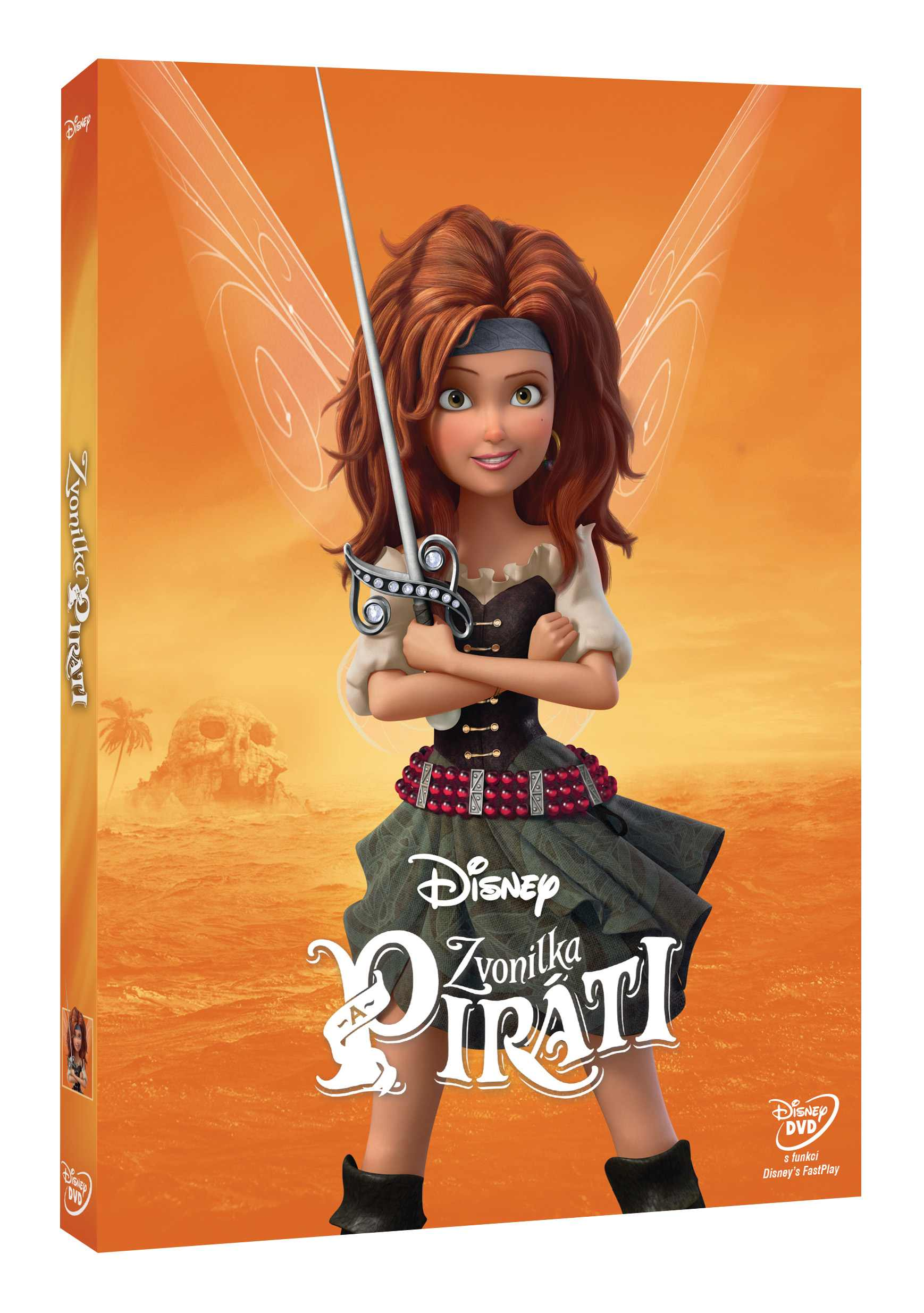 ZVONILKA A PIRÁTI - DVD
