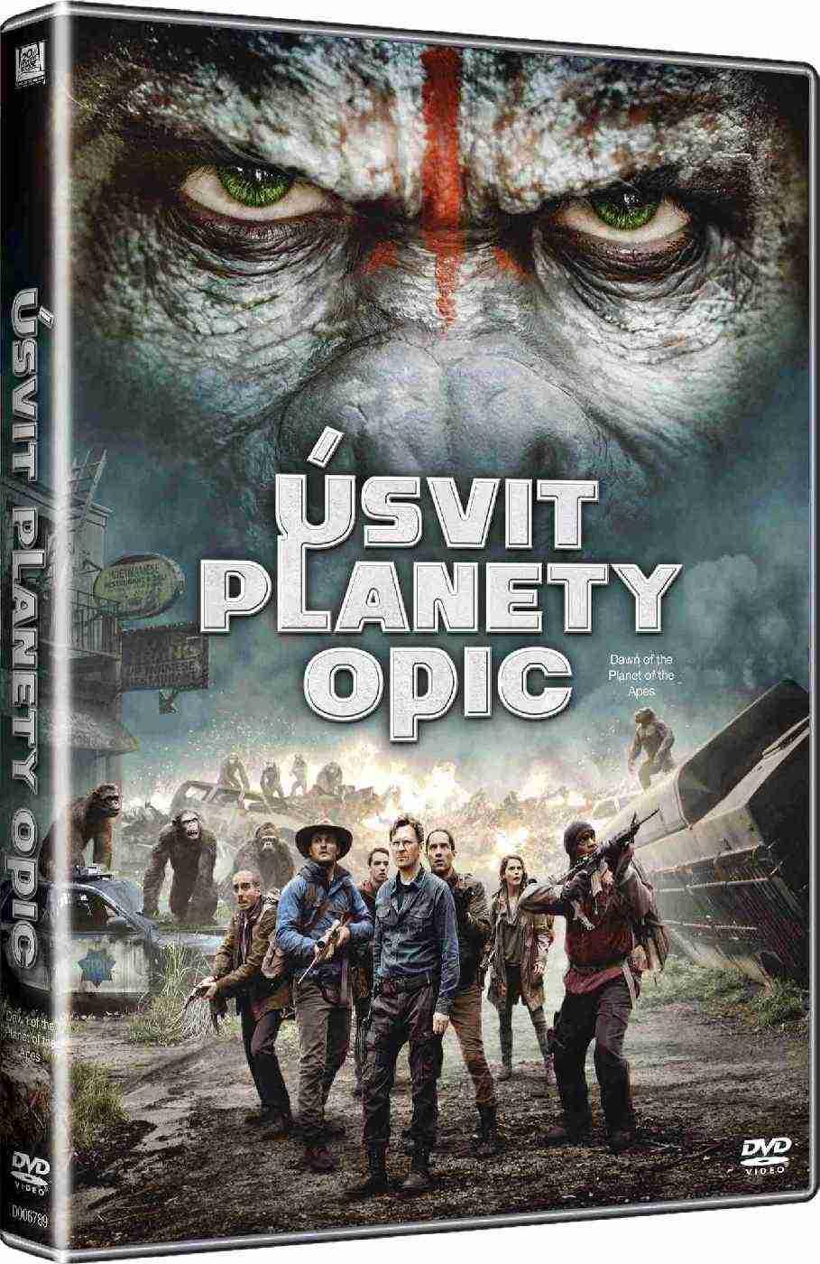 Úsvit planety opic - DVD