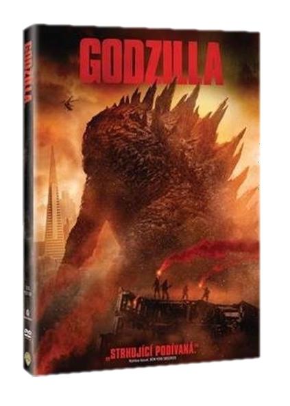 GODZILLA (2014) - DVD