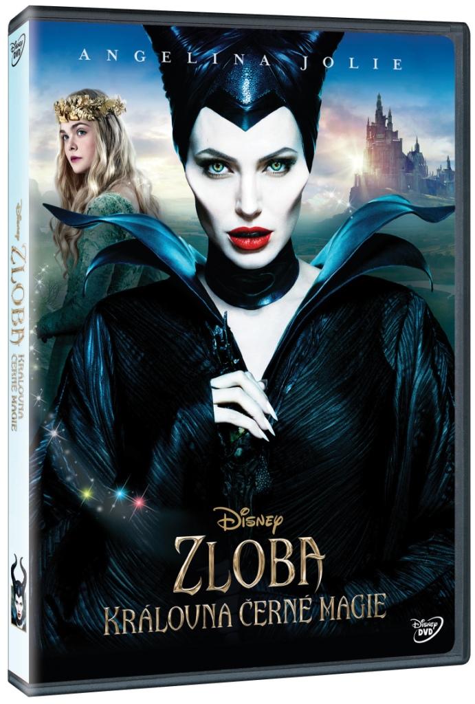 ZLOBA - KRÁLOVNA ČERNÉ MAGIE (Maleficent) - DVD