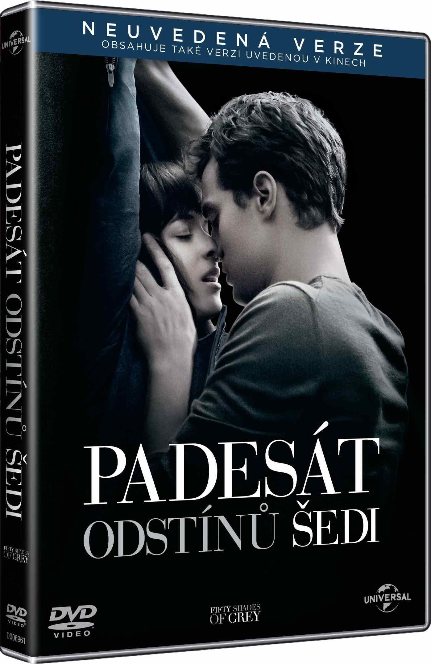 PADESÁT ODSTÍNŮ ŠEDI - DVD