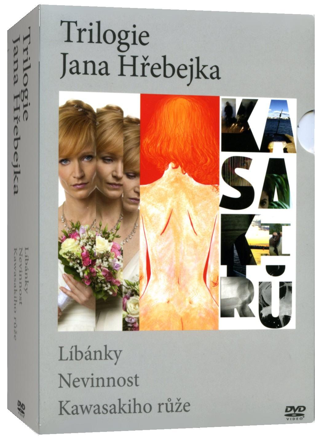 TRILOGIE JANA HŘEBEJKA (Líbánky, Nevinnost, Kawaskiho růže) - 3 DVD