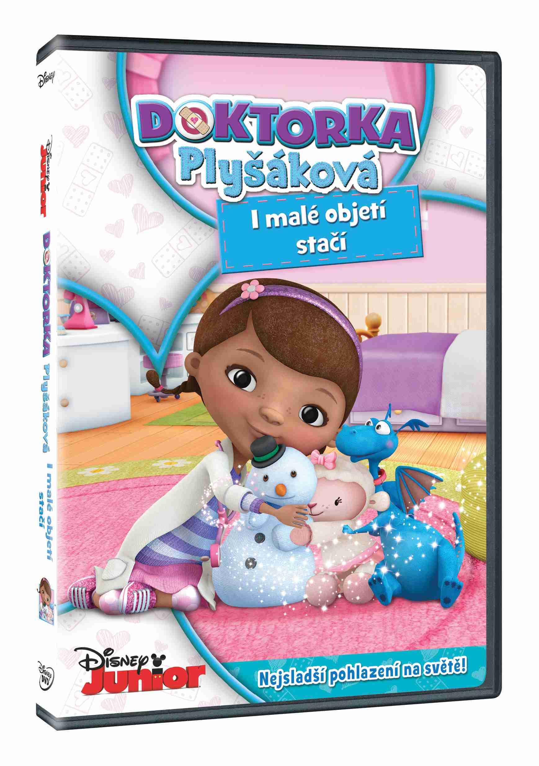 DOKTORKA PLYŠÁKOVÁ: I MALÉ OBJETÍ STAČÍ - DVD
