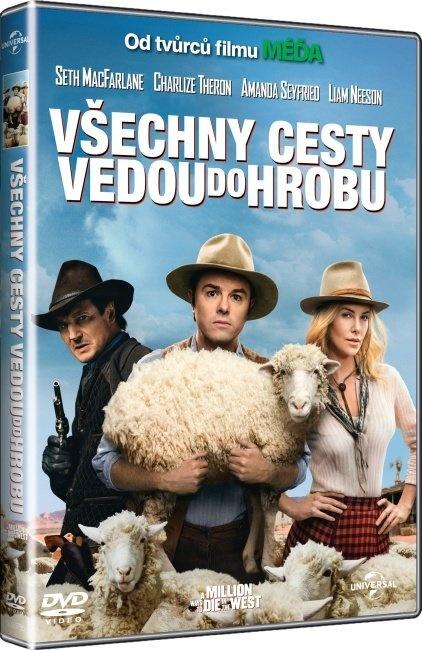 VŠECHNY CESTY VEDOU DO HROBU - DVD