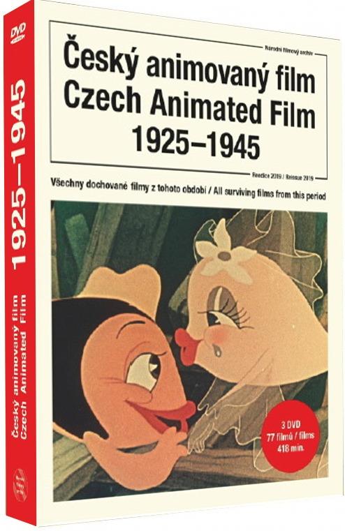 Český animovaný film 1925-1945 - 3DVD (reedice 2019)
