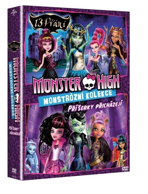 MONSTER HIGH: MONSTRÓZNÍ KOLEKCE - 2 DVD
