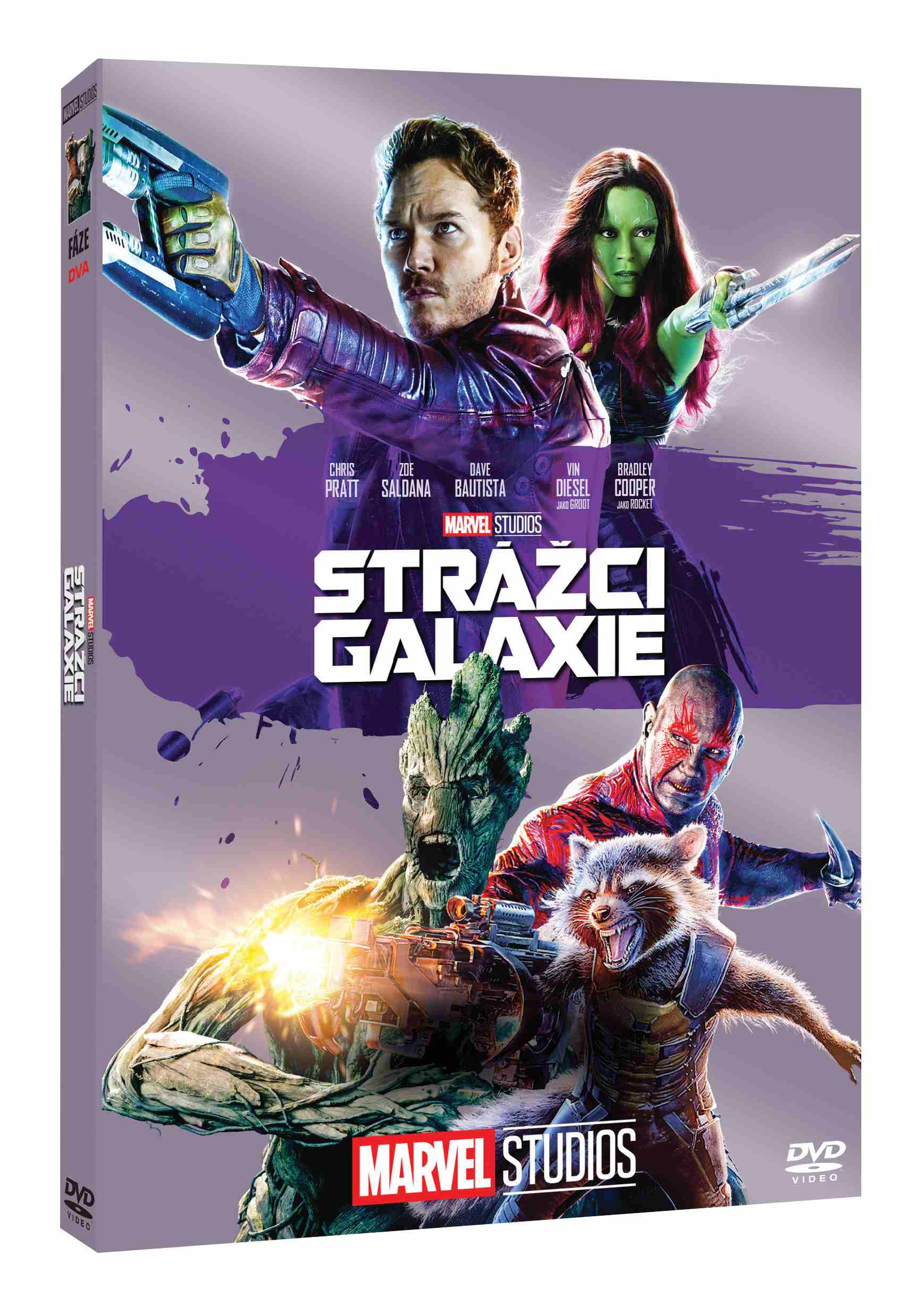 Strážci Galaxie - DVD