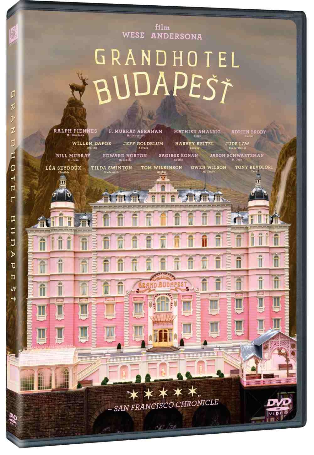 GRANDHOTEL BUDAPEŠŤ - DVD