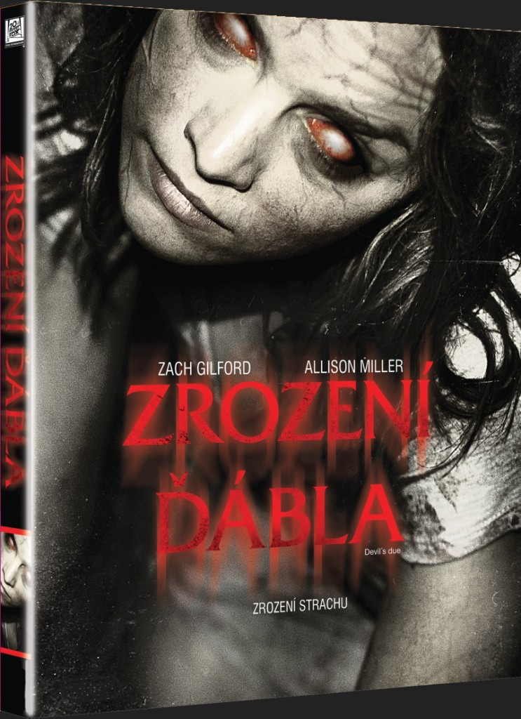 ZROZENÍ ĎÁBLA - DVD